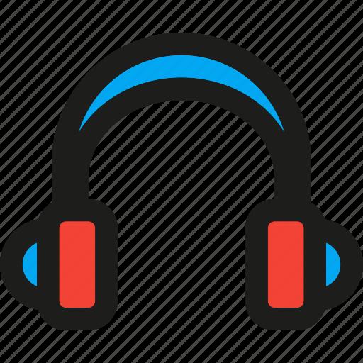 audio, headphone, media, multimedia, play, player, sound icon