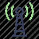network, communication, signal, tower