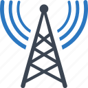 communication tower, radio, tower