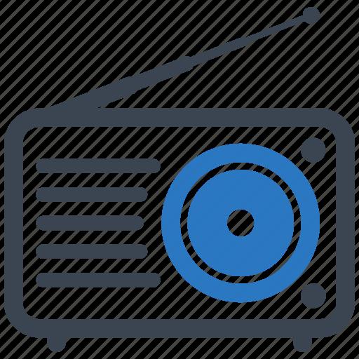 communication, media, radio icon
