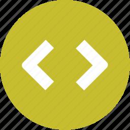 code, coding, custom, html icon