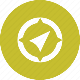 compass, direction, gps, location, navigation, travel icon