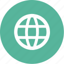 earth, globe, international, map, world icon