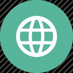 earth, globe, international, map, world icon