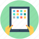 computer tablet, ipad, mobile ui, tablet, tablet pc icon