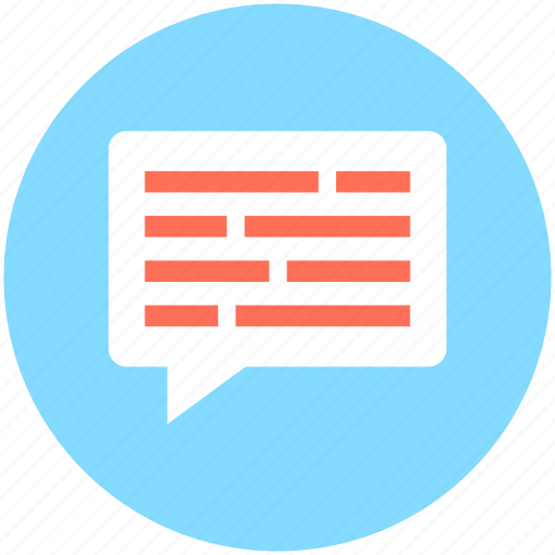 Chat balloon, chat bubble, comments, speech balloon, speech bubble icon - Download on Iconfinder
