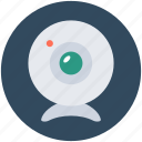 computer camera, live camera, video chatting, web camera, webcam icon