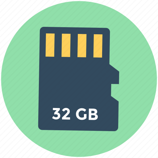 data storage, memory card, memory storage, sd card, storage device icon
