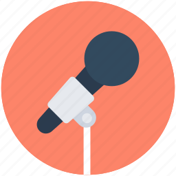 audio, mic, microphone, music, sound icon