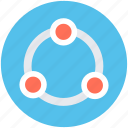 community, network, social community, social media, structure icon