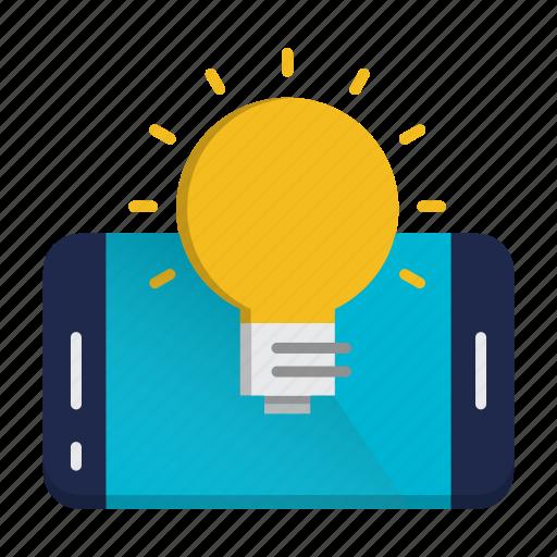 communication, idea, mobile, solution icon