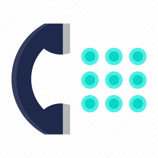 cell, communication, device, phone, telephone icon