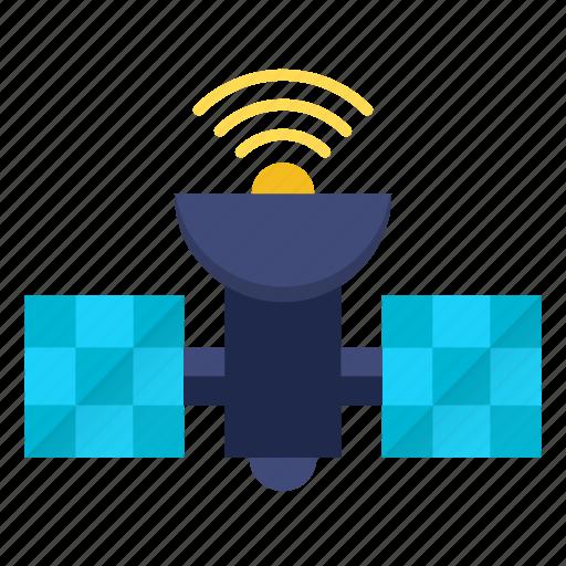 communication, satellite, signal, space, technology icon