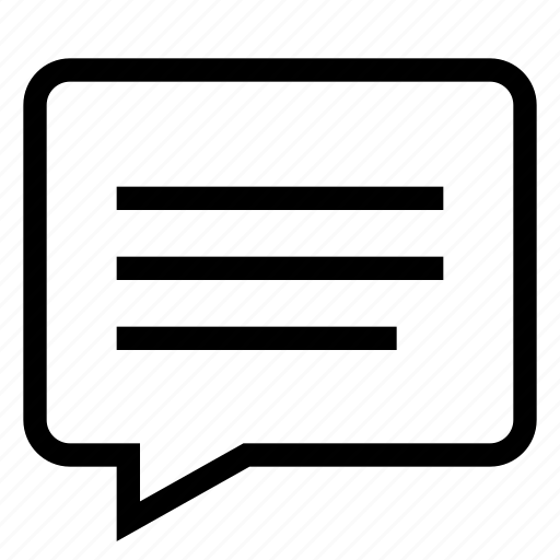 bubble, chat, comment, communication, message, speech, text icon