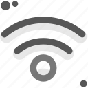 communication, computers, connectivity, digital, network, wifi, wireless signal icon