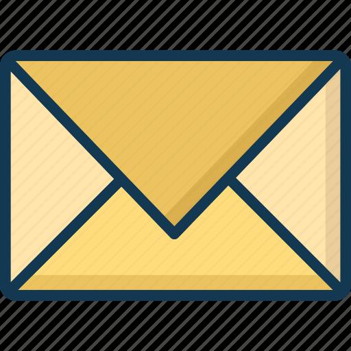 email, envelop, international postal services, paper icon