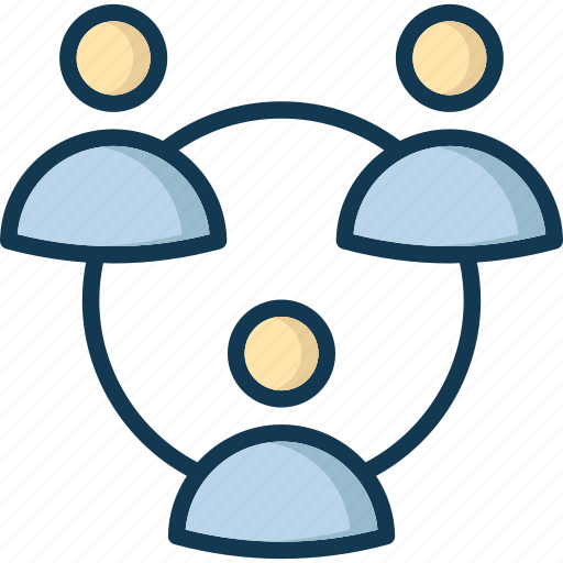 communication, group, network, networking icon