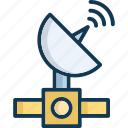 aerial, antenna, booster, radar icon