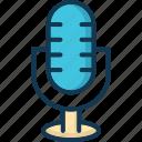 loud, mic, microphone, mike icon
