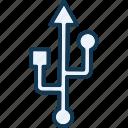 adaptive, connection, converter, cord icon