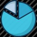 analysis, chart, circle chart, graph icon