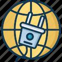 internet, internet availability, plug, power plug icon