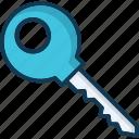 home kay, key, login, password icon