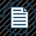 arrows, page refresh, refresh, regain icon