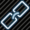 backlink, bound, build, chain icon