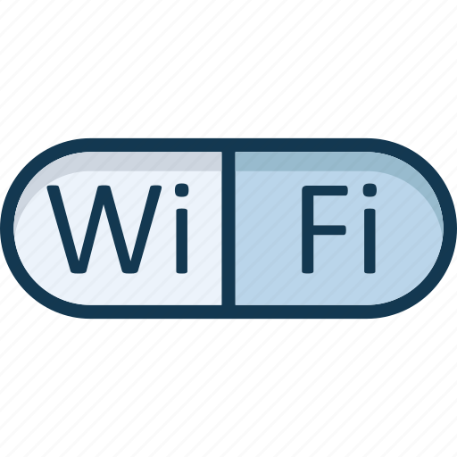 internet availability, signals, wifi signals icon