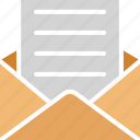 documents, e newsletter, email newsletter, newsletter icon