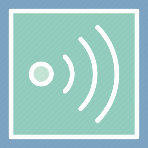 internet availability, signals, wifi signals, wireless signals icon