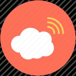 cloud network, wifi cloud, wifi zone, wireless fidelity, wireless network icon