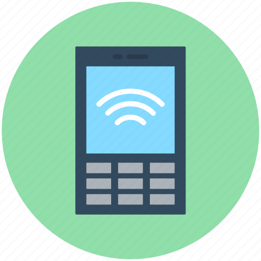 Mobile, mobile wifi, wifi connection, wifi signals, wireless internet icon - Download on Iconfinder