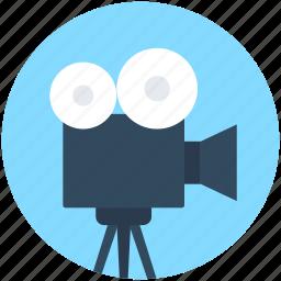 film camera, film recorder, movie camera, video camera, video recording icon