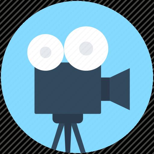 Film camera, film recorder, movie camera, video camera, video recording icon - Download on Iconfinder