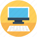 computer, desktop pc, monitor, personal computer, workstation icon