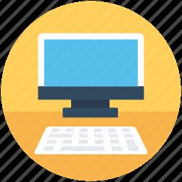 computer, desktop pc, monitor, personal computer, workstation icon