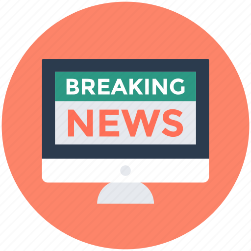 Breaking news, media, press, television, tv icon - Download on Iconfinder