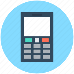 cell phone, cellular phone, keypad phone, mobile, smartphone icon