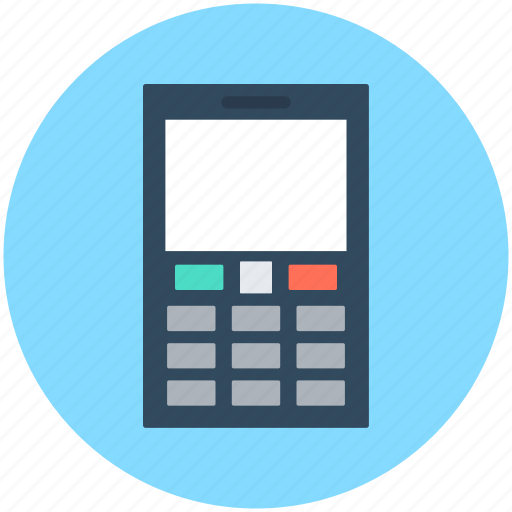 Cell phone, cellular phone, keypad phone, mobile, smartphone icon - Download on Iconfinder