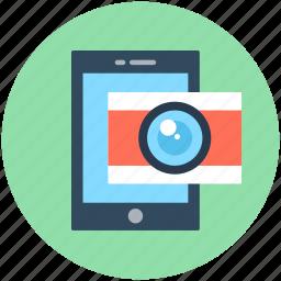 camera, camera mobile, mobile media, phone camera, smartphone icon