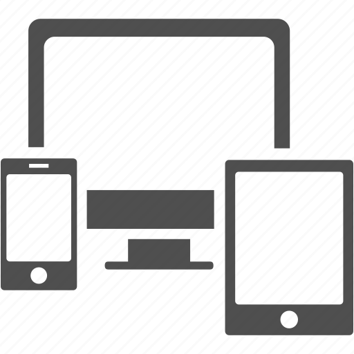 communication, computer, multimedia, network, phone, tablet icon