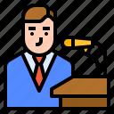 avatar, communication, mass, news icon