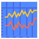 chart, graph, quality, signals icon