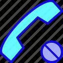 call, call failed, communication, phone, sign, talk, telephone icon