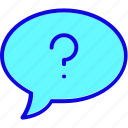 bubble, chat, comment, communication, mobile, smartphone, support icon