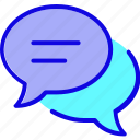 bubble, chat, communication, email, logo, mail, message