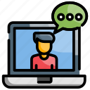 chat, consultation, conversation icon