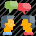 collaboration, discussion, teamwork